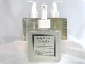 Glycolic Face Wash - Soothing Rose (NEW)