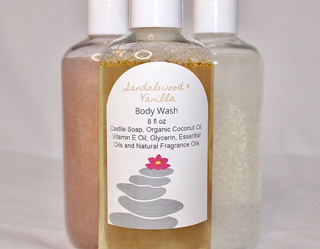 Sandalwood & Vanilla Body Wash