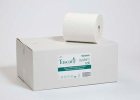 Autocut Hand towel white 6 per case