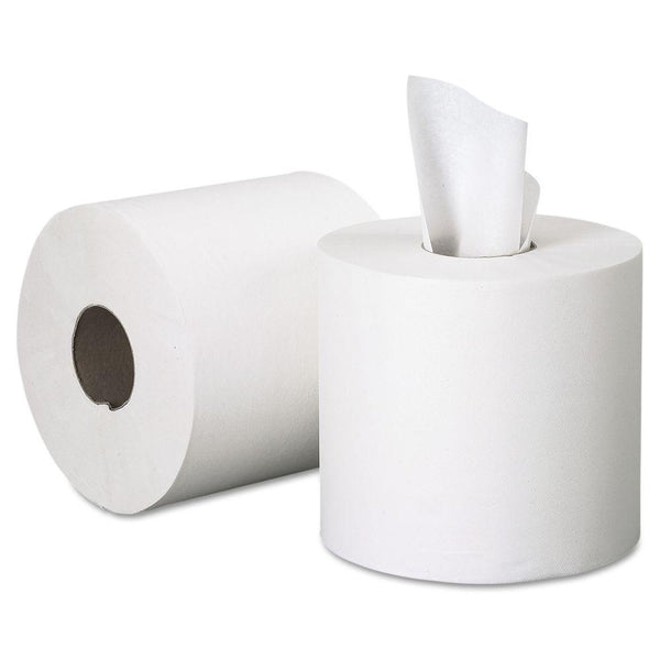Centre feed mini toilet roll 12 per pack