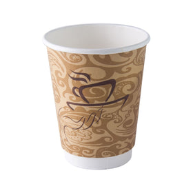 12 OZ Double wall  Coffee Cups 500 per case