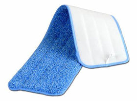 14inc blue Microfiber Mopping Pad