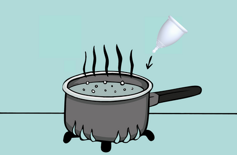 boiling your menstrual cup