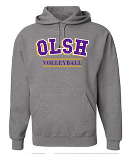 OLSH VOLLEYBALL YOUTH & ADULT HOODED SWEATSHIRT