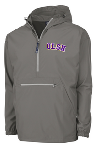 OLSH EMBROIDERED ADULT PACK-N-GO PULLOVER