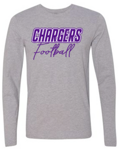 OLSH FOOTBALL SCRIPT YOUTH & ADULT LONG SLEEVE TEE