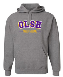 OLSH SPEECH & DEBATE YOUTH & ADULT HOODED SWEATSHIRT