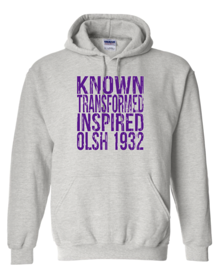 OLSH VINTAGE KNOWN TRANSFORMED INSPIRED HOODED SWEATSHIRT