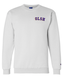 OLSH CHAMPION DOUBLE-DRY ECO LEFT CHEST DESIGN CREWNECK SWEATSHIRT