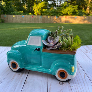 Farmhouse Truck Terrarium
