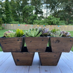Dark Rustic Container