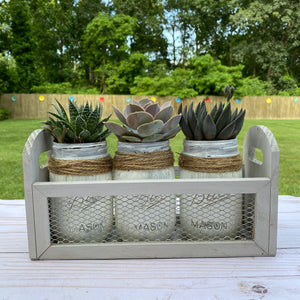 Farmhouse Planter Trio DIY Kit