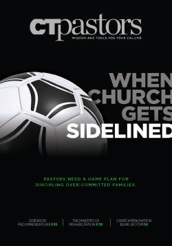 Special Issue: When Church Gets Sidelined
