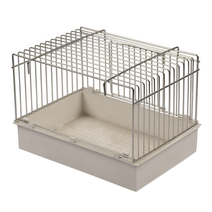 LAROY DUVO Aviary wire Bath w door