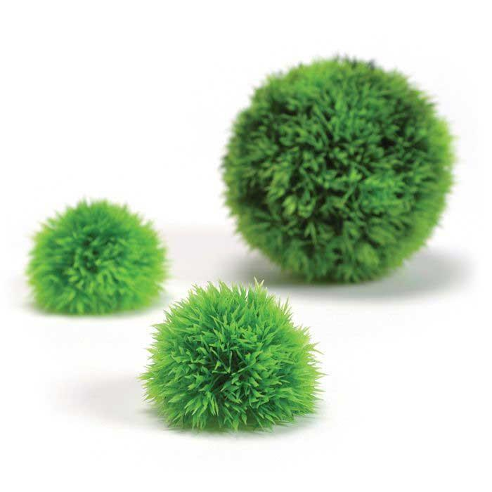 biOrb Aquatic Topiary Ball Set 3 Green