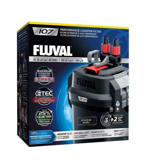 FLUVAL 107 CANISTER EXTERNAL FILTER PUMP A440