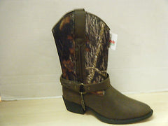 Cowboy Boots LAREDO Youth Camo Boot with Harness in Assorted Sizes, item #LC2218