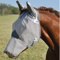 Fly Mask Cashel Crusader Long Nose with Ears