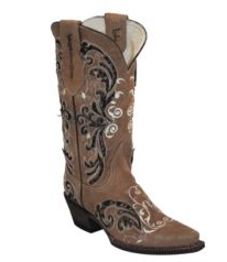 Cowgirl Boots FERRINI Ladies Laser Glimmer in Assorted Sizes, # 83061100085B