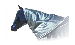 Horse Neck Cover Ozark 1680 Denier Waterproof and Breathable 3/4 Hood
