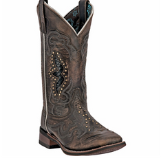 "Cowgirl Boots LAREDO Ladies ""Spellbound"" Square Toe Boot Item #5660"