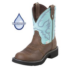 Cowgirl Boots JUSTIN Ladies Gypsy, Waterproof Boot, Style# L9915
