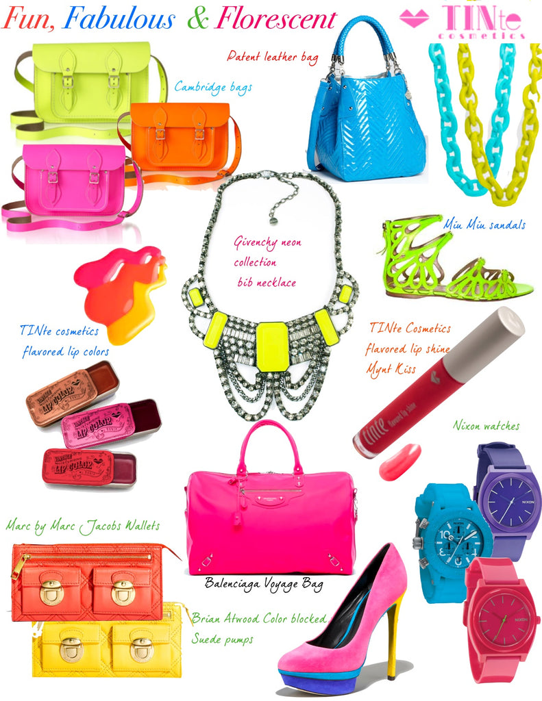 Fun, Fabulous & Florescent - Neon Shades for Spring!