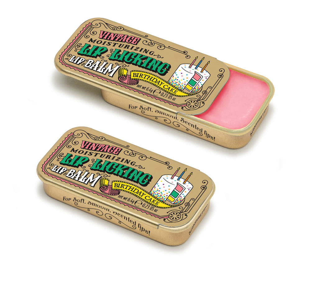 Birthday Cake Lip Licking Flavored Lip Balm