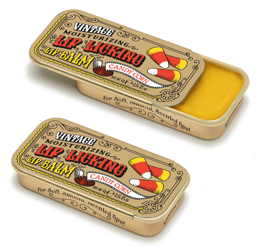 Candy Corn Lip Licking Flavored Lip Balm