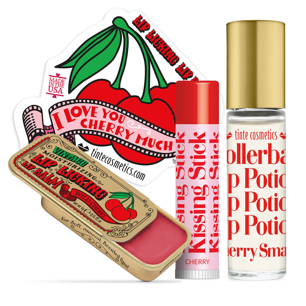 Cherry Balm Trio Kit