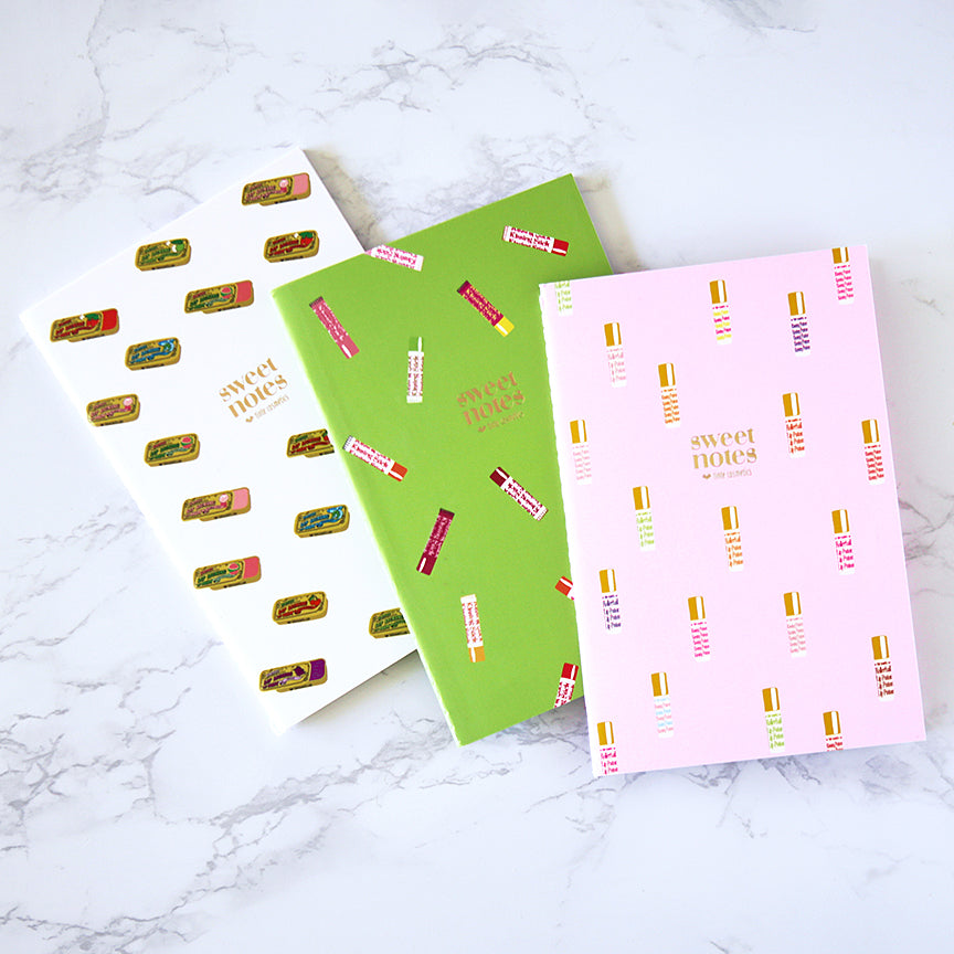 Sweet Notes - Trio of Notebooks (ALL 3)