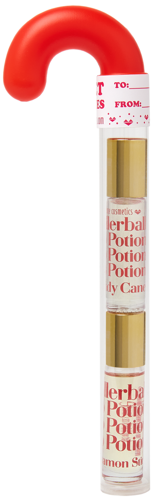 Candy Cane Organic Rollerball Lip Potion Kit: Candy Cane & Cinnamon Stick