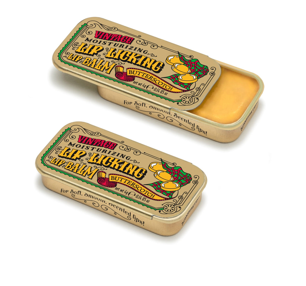 Butterscotch Lip Licking Flavored Lip Balm