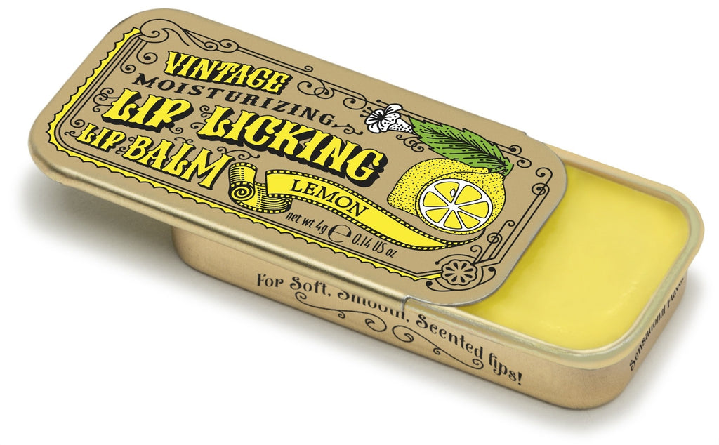 Lemon Lip Licking Flavored Lip Balm