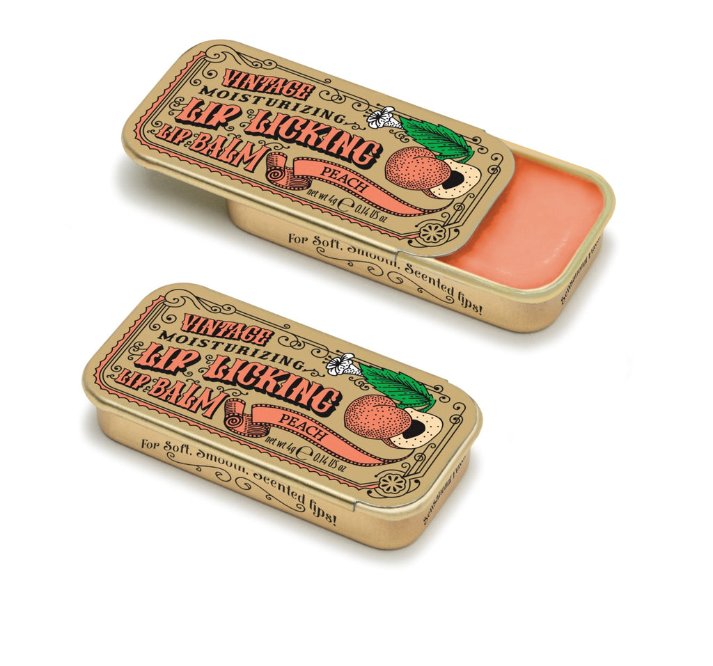Peach Lip Licking Flavored Lip Balm