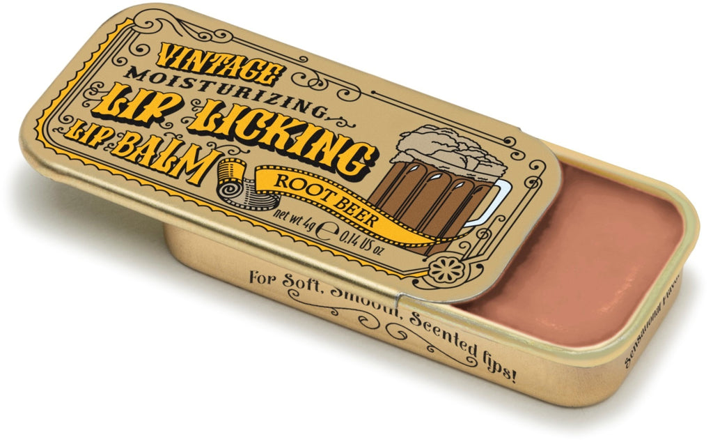 Root Beer Lip Licking Flavored Lip Balm