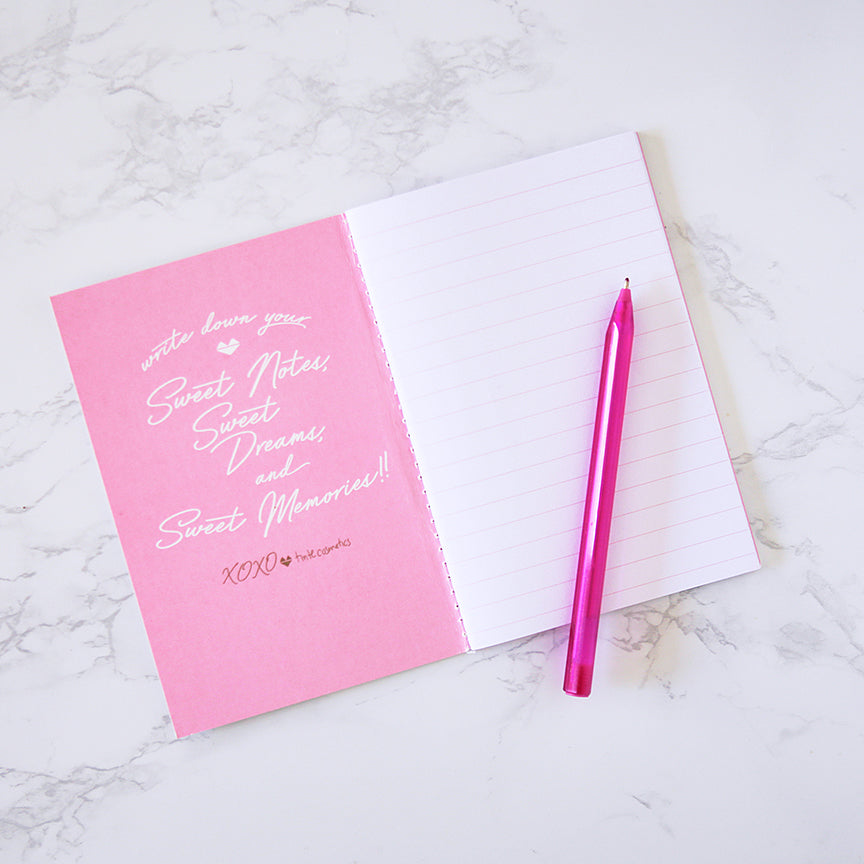 Sweet Notes - Rollerball Lip Potion Notebook