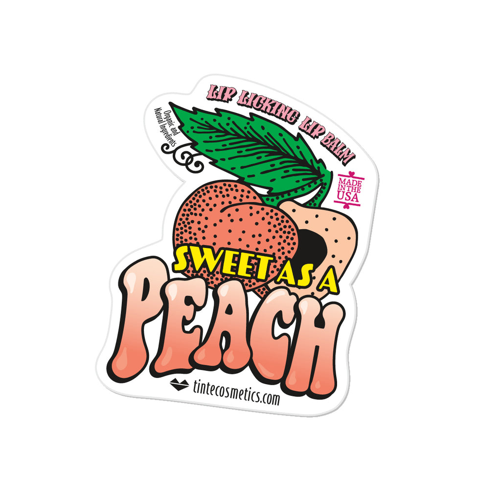 STICKER - Sweet as a Peach
