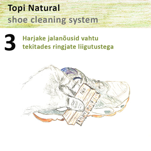 Topi natural sneaker cleaning system 3