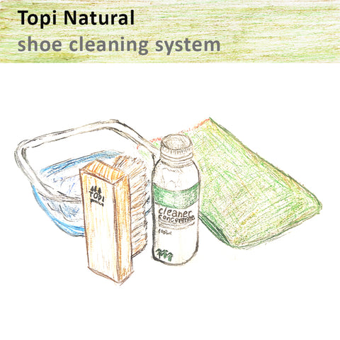 Topi natural sneaker cleaning system
