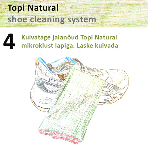 Topi natural sneaker cleaning system 4