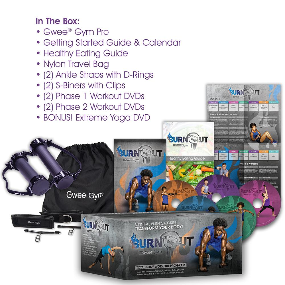 Burnout by Gwee Gym - A Total Body Workout Solution