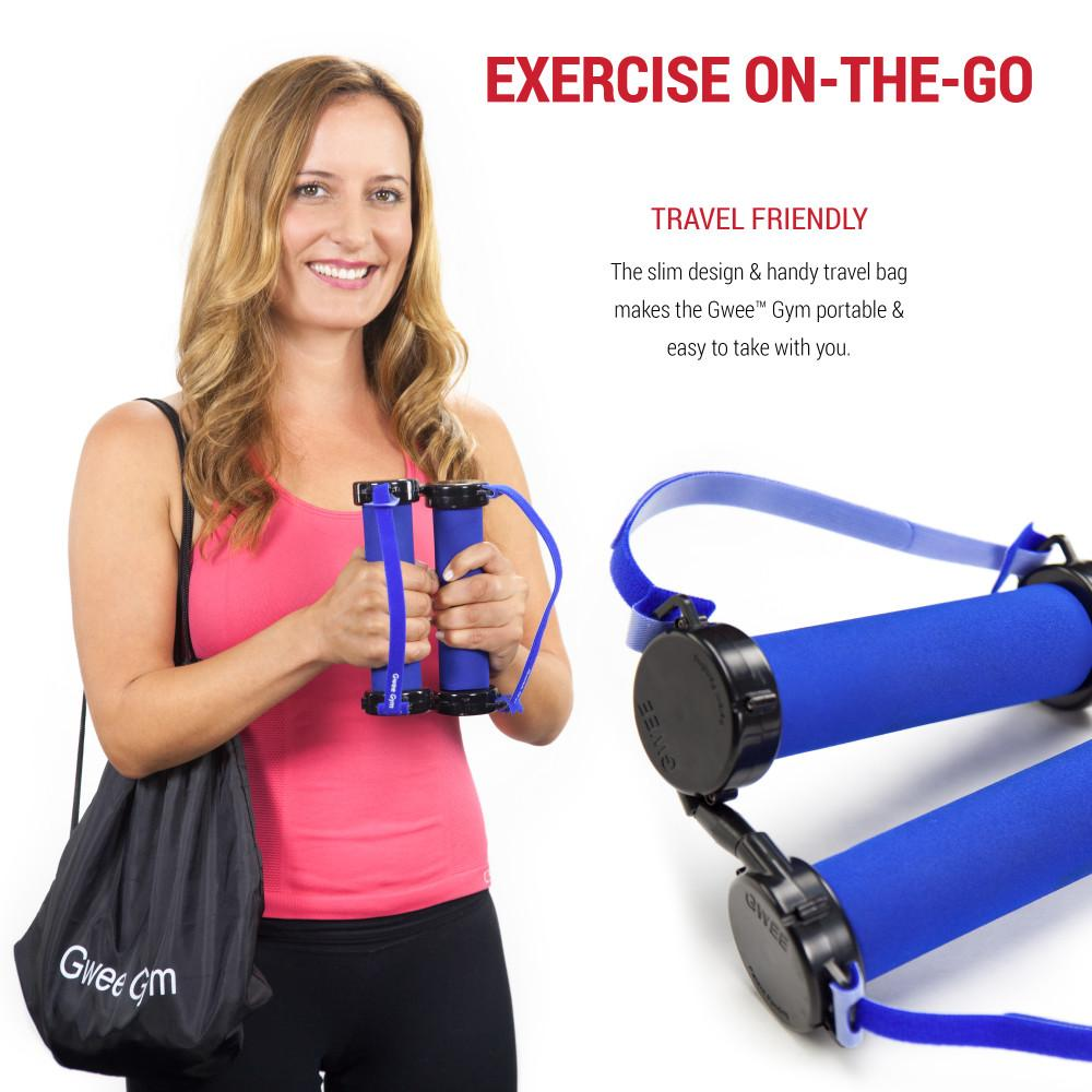 Gwee Gym is Travel Friendly Exercise