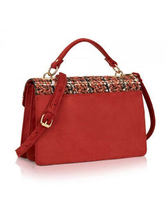 Numerventidue Borsa Isabelle Wool Orange