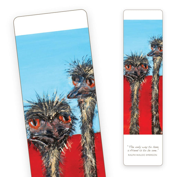 Bookmark - Emus