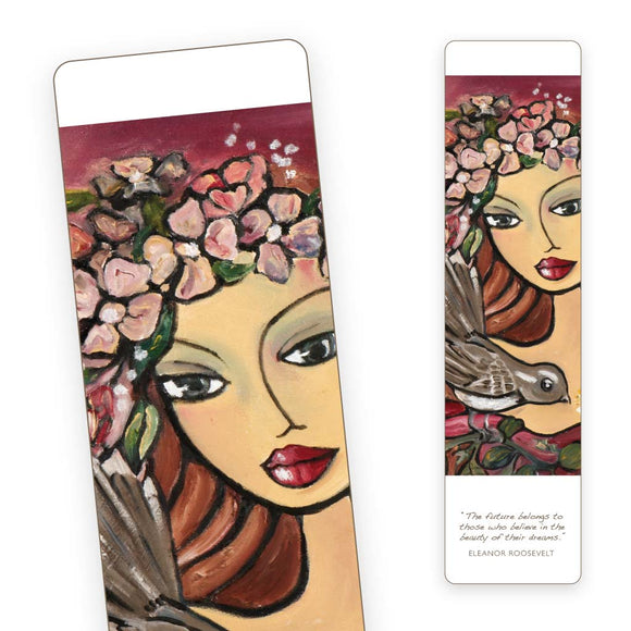 Bookmark - Crimson Beauty