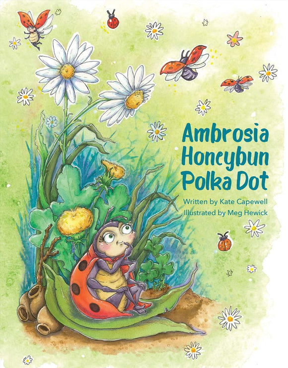 Children's Book - Ambrosia Honeybun Polka Dot