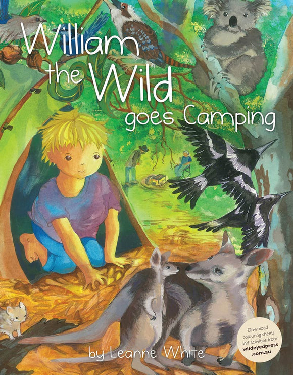 Children's Book - William the Wild Goes Camping