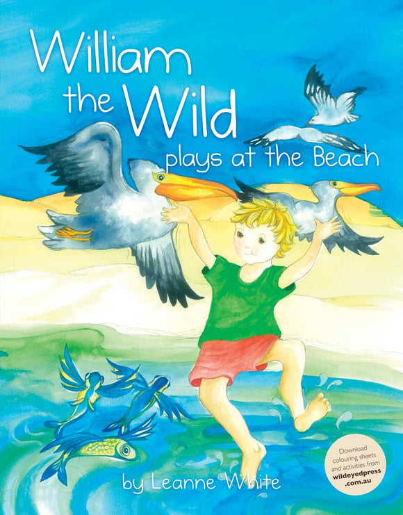 Children's Book - William the Wild Plays at the Beach