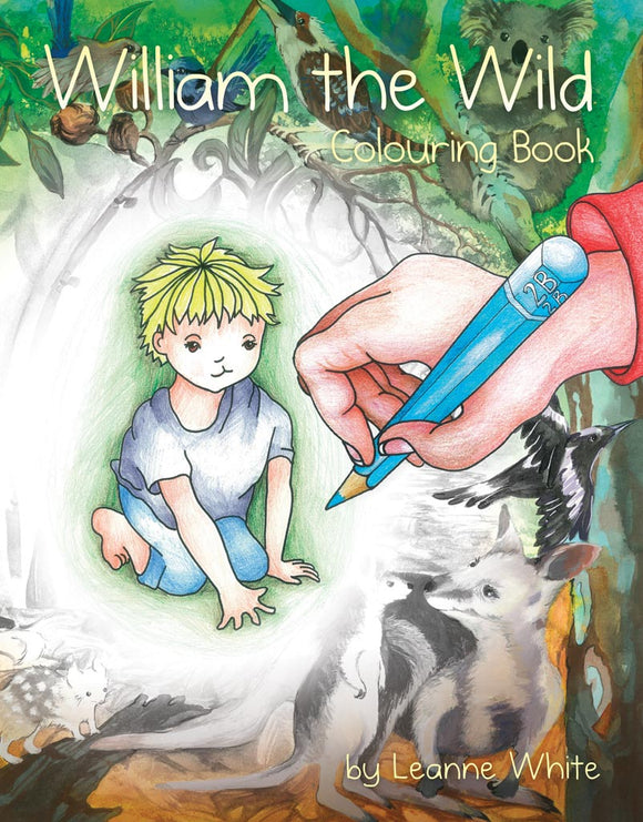 Children's Book - William the Wild Colouring Book